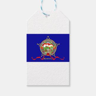Minnesota Flag Gift Tags