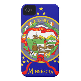 Minnesota Flag iPhone 4 Case-Mate Cases