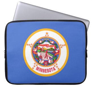 Minnesota Flag Laptop Sleeve