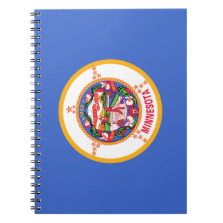 Minnesota Flag Notebook