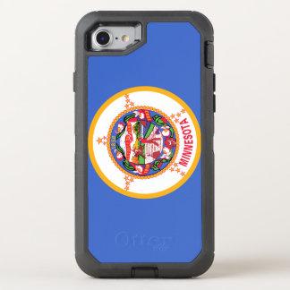 Minnesota Flag OtterBox Defender iPhone 8/7 Case