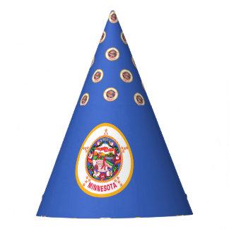 Minnesota Flag Party Hat