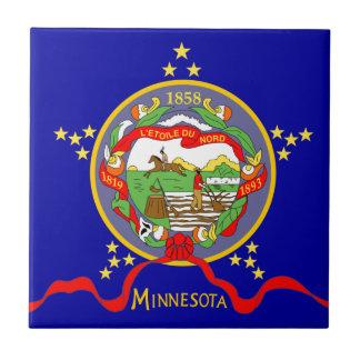Minnesota Flag Tile