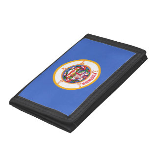 Minnesota Flag Tri-fold Wallet