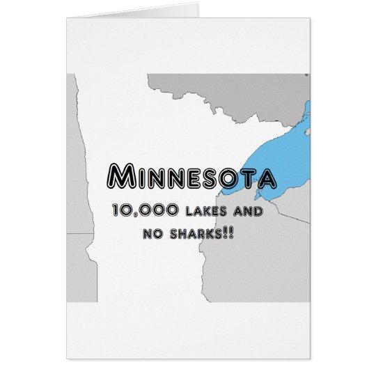 Minnesota Funny Card