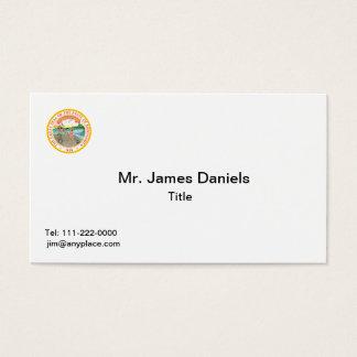 Minnesota Great Seal Business Card