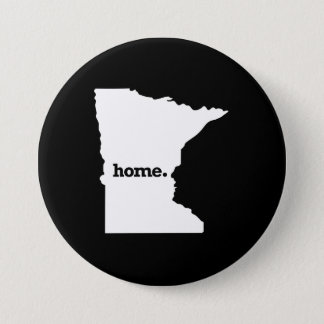 MINNESOTA HOME STATE -.png 3 Inch Round Button