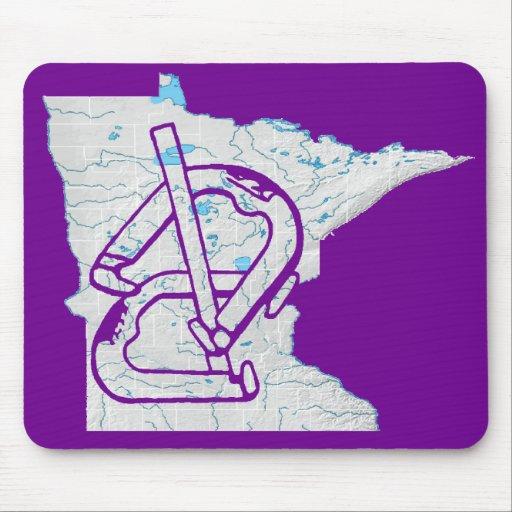 Minnesota Horseshoes Mousepad