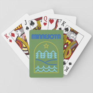 Minnesota Just The Lines Dealer Deck Playing Cards