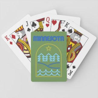 Minnesota Just The Lines Dealer Deck Poker Deck