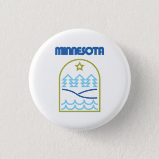 Minnesota Just The Lines Pin