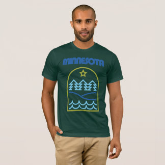 Minnesota Just The Lines T-Shirt
