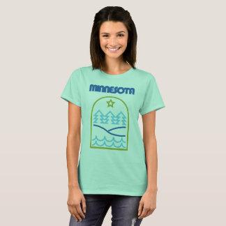 "Minnesota Just The ""Thin"" Lines T-Shirt"