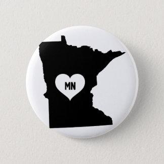Minnesota Love 2 Inch Round Button