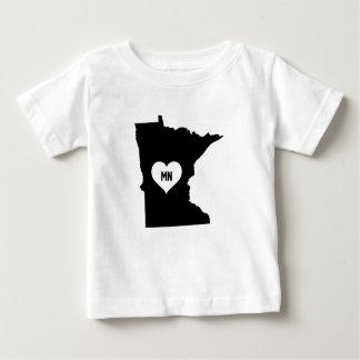 Minnesota Love Baby T-Shirt