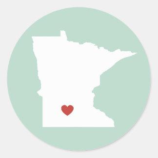 Minnesota Love - Customizable Sticker