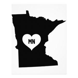 Minnesota Love Letterhead