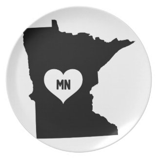 Minnesota Love Plate