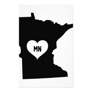 Minnesota Love Stationery