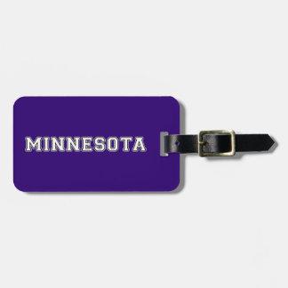 Minnesota Luggage Tag