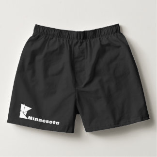 Minnesota Map Boxers