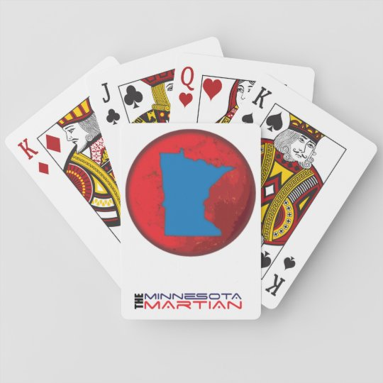 Minnesota Martian playing cards