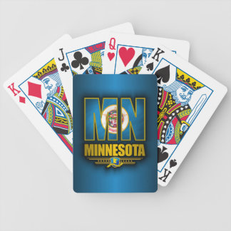 Minnesota (MN) Bicycle Playing Cards