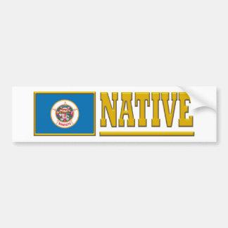Minnesota Native Bumper Sticker