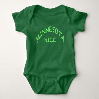 Minnesota Nice Baby Jersey Bodysuit