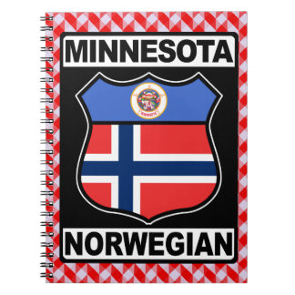 Minnesota Norwegian American Notepad Notebooks