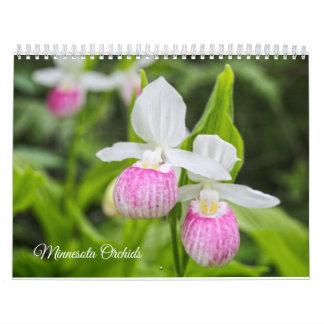 Minnesota Orchids calendar