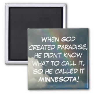 Minnesota Paradise Magnet