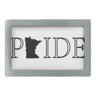 Minnesota Pride Rectangular Belt Buckle
