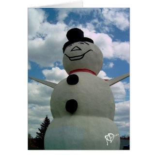 Minnesota Snowman Card