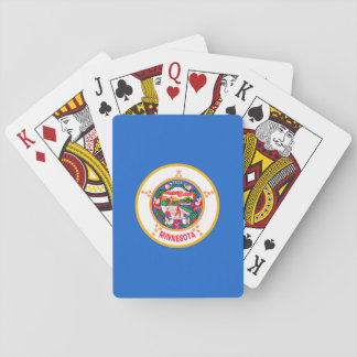 Minnesota State Flag Design Playing Cards