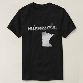 Minnesota state in white T-Shirt