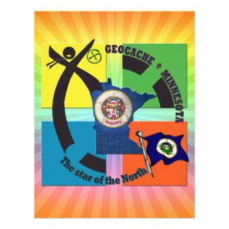 MINNESOTA STATE MOTTO GEOCACHER LETTERHEAD