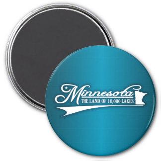 Minnesota State of Mine 3 Inch Round Magnet