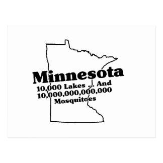 Minnesota State Slogan Postcard