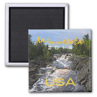 Minnesota State USA Souvenir Magnet Change Year