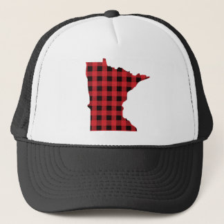 Minnesota Trucker Hat | Paul Bunyan Plaid Hat