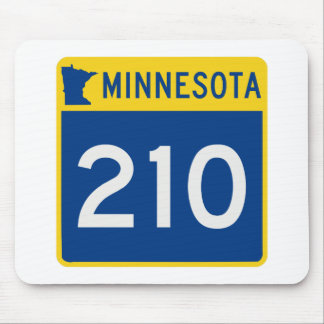 Minnesota Trunk Highway 210 Mouse Pad