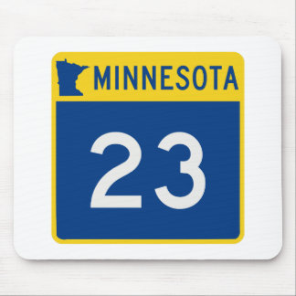 Minnesota Trunk Highway 23 Mouse Pad