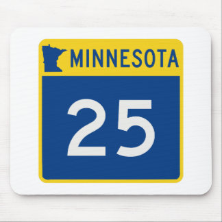 Minnesota Trunk Highway 25 Mouse Pad