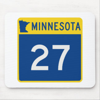 Minnesota Trunk Highway 27 Mouse Pad