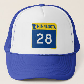 Minnesota Trunk Highway 28 Trucker Hat