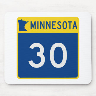 Minnesota Trunk Highway 30 Mouse Pad