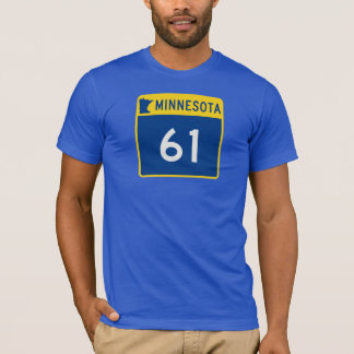 Minnesota Trunk Highway 61 T-Shirt
