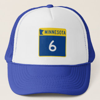 Minnesota Trunk Highway 6 Trucker Hat