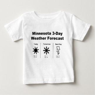Minnesota Weather Forecast Baby T-Shirt